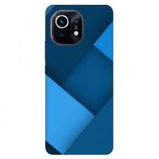 """Xiaomi Mi 11 TPU dėklas unikaliu dizainu 1.0 mm """"u-case Airskin Blue design"""""""