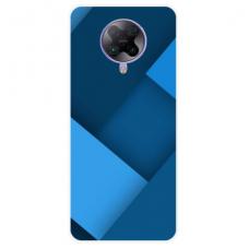 """Xiaomi Poco F2 pro TPU dėklas unikaliu dizainu 1.0 mm """"u-case Airskin Blue design"""""""