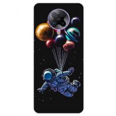 """Xiaomi Poco F2 pro TPU dėklas unikaliu dizainu 1.0 mm """"u-case Airskin Cosmo design"""""""