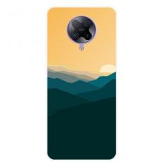 "Xiaomi Poco F2 pro TPU dėklas unikaliu dizainu 1.0 mm ""u-case Airskin Mountains 2 design"""