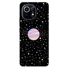 """Xiaomi Mi 11 TPU dėklas unikaliu dizainu 1.0 mm """"u-case Airskin Planet design"""""""