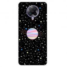 """Xiaomi Poco F2 Pro TPU dėklas unikaliu dizainu 1.0 mm """"u-case Airskin Planet design"""""""