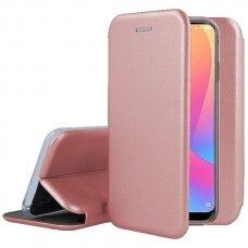 AKCIJA! samsung galaxy a70 atverčiamas dėklas Book elegance rožinis