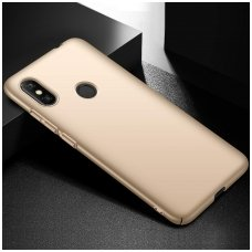 xiaomi redmi note 6 pro DĖKLAS X-LEVEL GUARDIAN SILIKONINIS 0,6MM auksinis