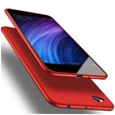 Xiaomi redmi 4A dėklas X-LEVEL GUARDIAN silikonas RAUDONAS