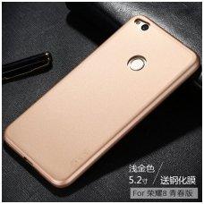 Xiaomi redmi 4X dėklas X-LEVEL GUARDIAN silikonas aukso spalvos