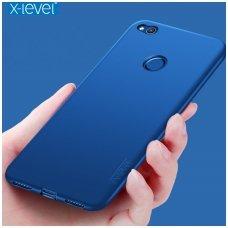 Xiaomi redmi 4X dėklas X-LEVEL GUARDIAN silikonas MĖLYNAS