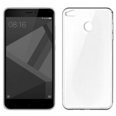 Xiaomi redmi 4x plonas permatomas silikoninis dėklas ultra slim