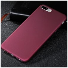 xiaomi redmi 6 (6a) DĖKLAS X-LEVEL GUARDIAN SILIKONINIS 0,6MM bordo
