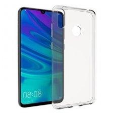 huawei y9 2019 dėklas Silikoninis Ultra Slim 0,3mm Permatomas skaidrus