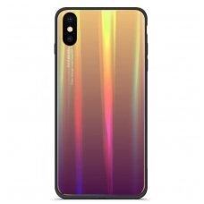 """xiaomi redmi note 7 Dėklas """"Aurora"""" PC+silikonas violetinis"""