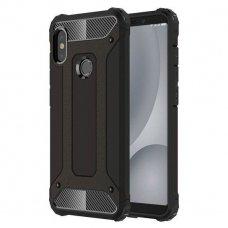Xiaomi redmi note 5/note 5 pro dėklas Hybrid Armor  TPU+PC plastikas juodas
