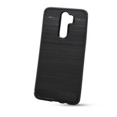 """Akcija! Xiaomi Redmi Note 8 Pro TPU dėklas """"Carbon Lux"""" Juodas"""