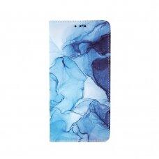 xiaomi redmi 9 atverčiamas dėklas smart trendy marble 2