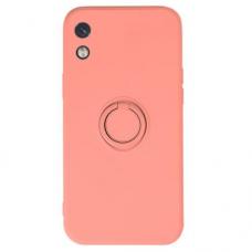 Xiaomi Redmi 9A dėklas su magnetu Pastel Ring rožinis