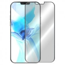 iphone 12 apsauginis stikliukas 5D Full Glue juodais kraštais