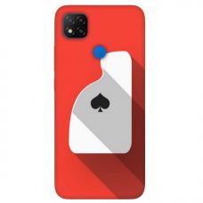 """Xiaomi Redmi 9C TPU dėklas unikaliu dizainu 1.0 mm """"u-case Airskin Ace design"""