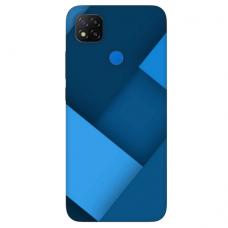 """Xiaomi Redmi 9C TPU dėklas unikaliu dizainu 1.0 mm """"u-case Airskin Blue design"""""""