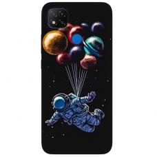 """Xiaomi Redmi 9C TPU dėklas unikaliu dizainu 1.0 mm """"u-case Airskin Cosmo design"""""""