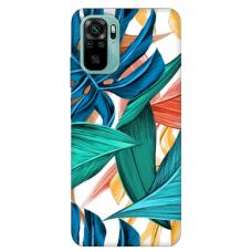 """Xiaomi Redmi Note 10/ 10s TPU dėklas unikaliu dizainu 1.0 mm """"u-case Airskin Leaves 1 design"""""""