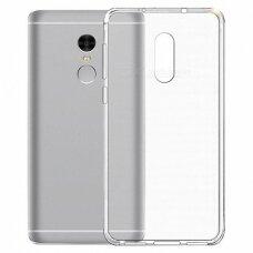 Akcija! Xiaomi redmi note 4/4x DĖKLAS SILIKONAS HIGH CLEAR 0,5 MM PERMATOMAS