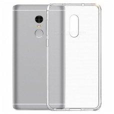 Xiaomi redmi note 4/4x DĖKLAS SILIKONAS ULTRA SLIM 0,3MM PERMATOMAS