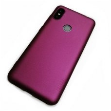 xiaomi redmi note 6 pro DĖKLAS X-LEVEL GUARDIAN SILIKONINIS 0,6MM bordo