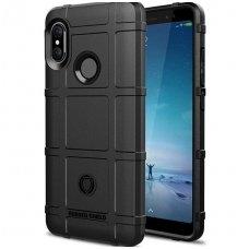 Huawei p smart 2019 Dėklas Rugged Shield tpu juodas