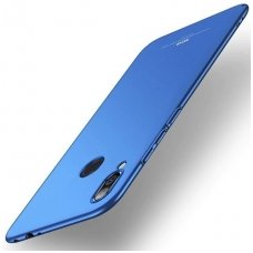 Xiaomi Redmi Note 7 dėklas MSVII PC plastikas 0,7 mm mėlynas