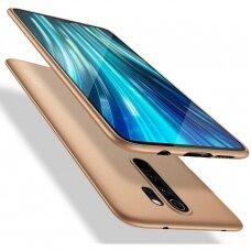 Xiaomi redmi note 8 dėklas X-LEVEL GUARDIAN silikonas auksinis
