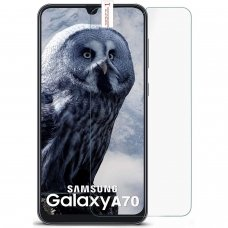 samsung galaxy a70 ekrano apsauginis stikliukas Tempered Glass GOLD