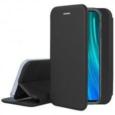 xiaomi Redmi Note 8 Pro atverčiamas dėklas Book elegance odinis juodas