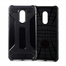 Akcija! xiaomi redmi 4X dėklas Hybrid Armor TPU+PC plastikas juodas