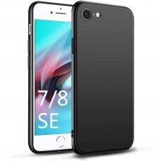 Iphone se 2020 dėklas TPU rubber juodas