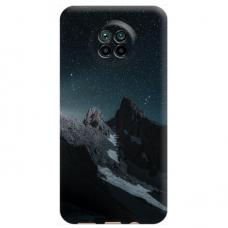 """Xiaomi Redmi Note 9T TPU dėklas unikaliu dizainu 1.0 mm """"u-case Airskin Mountains 1 design"""""""