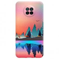 """Xiaomi Redmi note 9T TPU dėklas unikaliu dizainu 1.0 mm """"u-case Airskin Nature 5 design"""""""