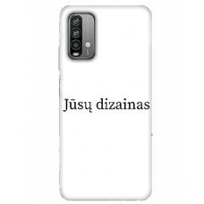 Xiaomi Redmi 9T TPU dėklas nugarėlė su jūsų dizainu. Dėklas gaminamas su jūsų pateikta nuotrauka