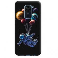 """Xiaomi Redmi Note 9 TPU dėklas unikaliu dizainu 1.0 mm """"u-case Airskin Cosmo design"""""""