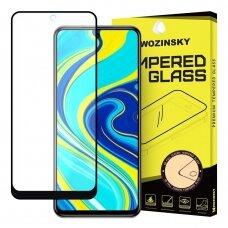 Akcija! Xiaomi redmi note 9s / 9 pro apsauginis grūdintas stiklas Wozinsky Full Glue juodais kraštais
