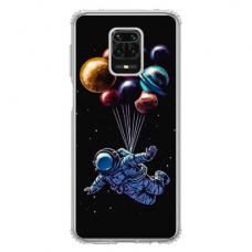 """Xiaomi Redmi Note 9s/ 9 pro TPU dėklas unikaliu dizainu 1.0 mm """"u-case Airskin Cosmo design"""""""