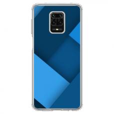 """Xiaomi Redmi Note 9s/ 9 Pro TPU dėklas unikaliu dizainu 1.0 mm """"u-case Airskin Blue design"""""""