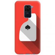 """Xiaomi Redmi Note 9 TPU dėklas unikaliu dizainu 1.0 mm """"u-case Airskin Ace design"""""""