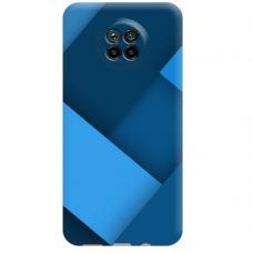 """Xiaomi Redmi Note 9T TPU dėklas unikaliu dizainu 1.0 mm """"u-case Airskin Blue design"""""""