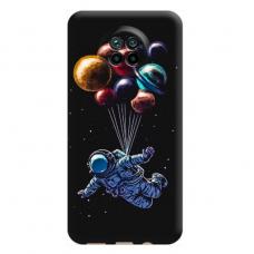 """Xiaomi Redmi Note 9T TPU dėklas unikaliu dizainu 1.0 mm """"u-case Airskin Cosmo design"""""""