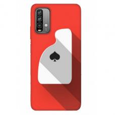 """Xiaomi Redmi 9T TPU dėklas unikaliu dizainu 1.0 mm """"u-case Airskin Ace design"""""""