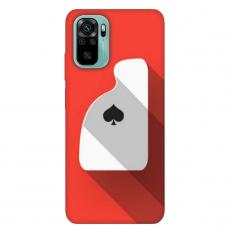 """Xiaomi Redmi Note 10/ 10s TPU dėklas unikaliu dizainu 1.0 mm """"u-case Airskin Ace design"""""""
