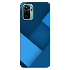"""Xiaomi Redmi Note 10/ 10s TPU dėklas unikaliu dizainu 1.0 mm """"u-case Airskin Blue design"""""""
