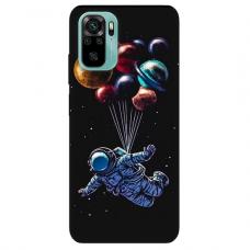 """Xiaomi Redmi Note 10/ 10s TPU dėklas unikaliu dizainu 1.0 mm """"u-case Airskin Cosmo design"""""""