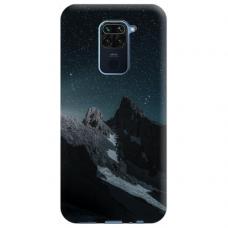 """Xiaomi Redmi Note 9 TPU dėklas unikaliu dizainu 1.0 mm """"u-case Airskin Mountains 1 design"""""""