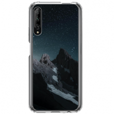 "Huawei P smart pro TPU dėklas unikaliu dizainu 1.0 mm ""u-case Airskin Mountains 1 design"""